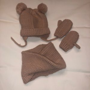 ZARA Baby Winter Accessories Bundle